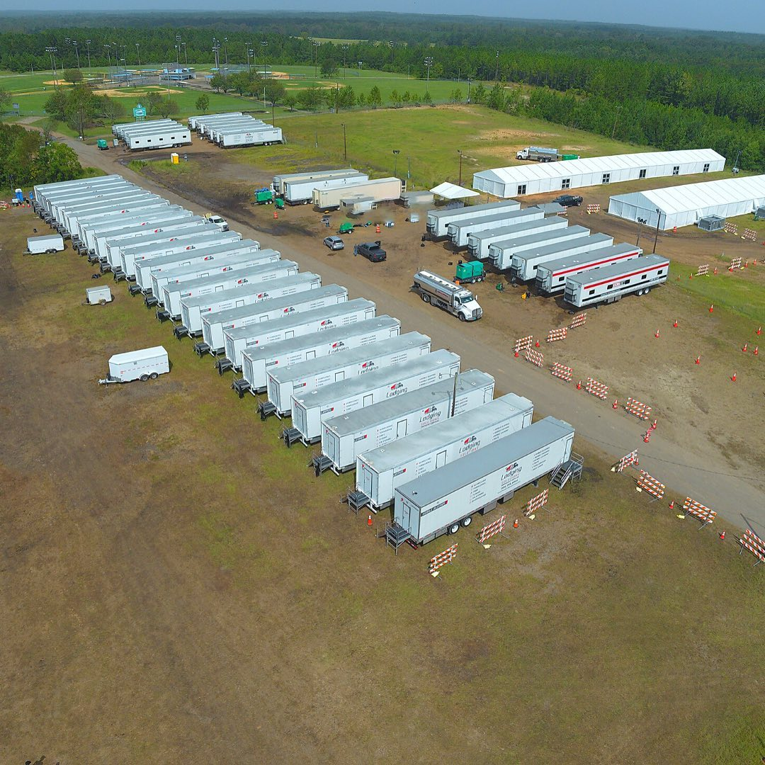 Lodging Solutions/Industrial Tents Mobile Base Camp for Disaster Relief