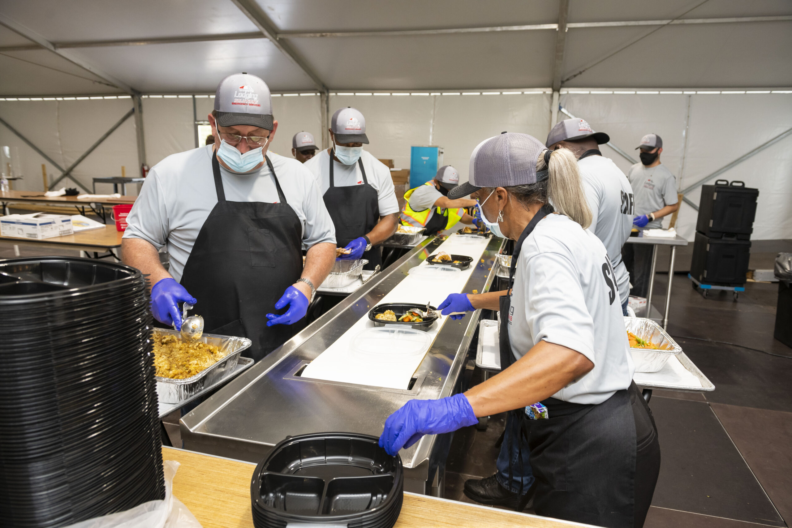Lodging Solutions/Industrial Tents Catering Food Services